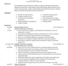 Mechanical Maintenance Resume Sample by Absolutely Smart Maintenance Resume Sample 11 Unforgettable