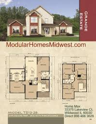 manufactured two story homes floor plans