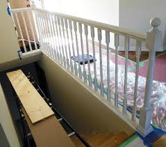 How To Build A Stair Banister How To Paint Stair Railings Newton Custom Interiors