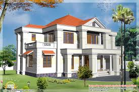 2 different 3d home elevations kerala house design idea