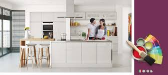 high gloss kitchen cabinets white u0026 grey on trend kitchen collection