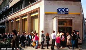 Five million who bank with Lloyds to become TSB customers   This     This is Money Bigger TSB  Lloyds Banking Group plans to float the old Trustee Savings Bank