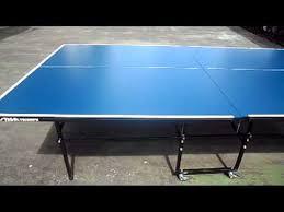 stiga eurotek table tennis table mesa stiga triumph youtube