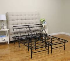 Platform Style Bed Frame Brands Hercules Adjustable 14 Inch Heavy Duty Metal Platform Style