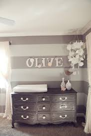diy nursery design with baby name on wall homedesignboard
