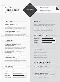20 professional resume template psd download