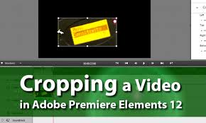 how to crop a video adobe premiere elements training 6