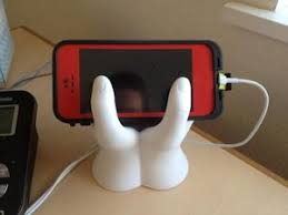 Cell Phone Holder For Desk Desktop Cell Phone Holder Cool Handshape Mobile Holder