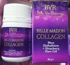 Scrub Bvr bvr collagen siapa lagi nak putih gebu dengan bvrc walaupun awak