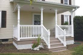 vinyl porch railing vinyl deck and railing vinyl porch railing