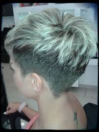 very short pixie hairstyle with saved sides short hair with shaved sides and back best short hair styles