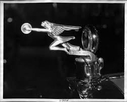 1925 26 packard goddess of speed ornament left side view