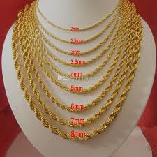 gold filled necklace chains images Extremely creative mens gold plated necklace 2018 18k necklaces jpg
