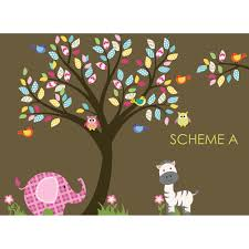 Elephant Wall Decals For Nursery by Wall Decal Source Nursery Tree Owl And Elephant Wall Decal
