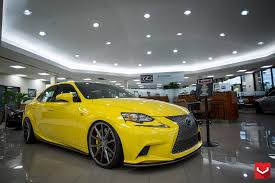 lexus yellow lexus is 350 f sport 20