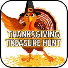 thanksgiving treasure hunt partygamesplus