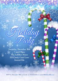 Christmas Card Invitation Wording Template Free Printable Holiday Party Invitation Templates Free