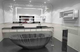 black and white futuristic bathroom ideas bathroom designs 1167