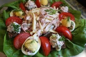 cold salads fleischsalat german style meat salad