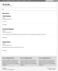builder blocks restaurant example customizations ithemes codex