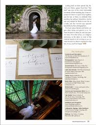 Magazine Wedding Programs The Mansion At Bald Hill Wedding Woodstock Ct Brave Hearts