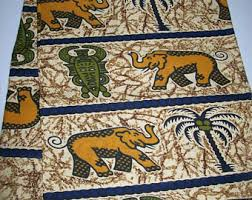 africa map fabric map of africa fabric etsy