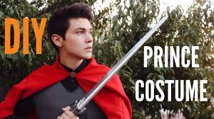 halloween costume with cape diy prince halloween costume youtube