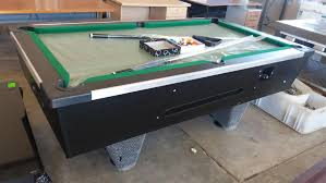 slate top pool table brand new slate top coin operated pool table complete with sticks