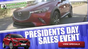 mazda specials quirk mazda presidents day sale youtube