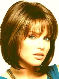 haircuts with description medium layered bob haircuts with bangs for women