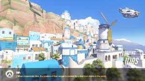 Map Of Santorini Greece by Overwatch Beta Map Ilios Only Map 1 Out Of 3 Youtube