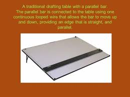 Drafting Tables With Parallel Bar Interior Architecture Program Ppt Download