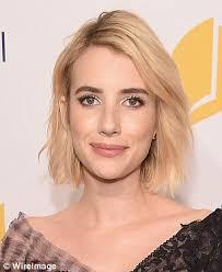 julianna margulies new hair cut emma roberts chops her hair into a daring retro fringe daily mail