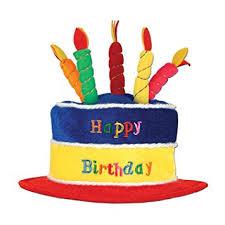birthday hat beistle 60717 plush birthday cake hat kitchen dining
