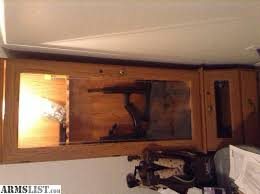 armslist for sale gun cabinet etched glass light power plug in