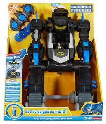 imaginext dc super friends rc transforming batbot bft56 fisher