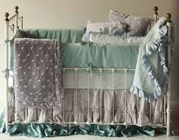 antique wrought iron crib 4303