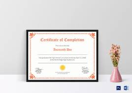33 blank certificate template free psd vector eps ai format