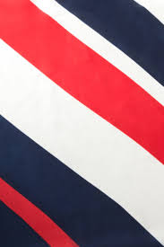 Blue White Red White Blue Flag Akira Diagonal Striped Silky Square Scarf In Red Blue White