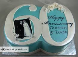 frostings by judy anniversary cakes 60th wedding anniversary