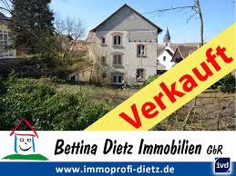 Haus Grundst K Kaufen Kaufen Schaafheim Verkauftt Dietz Historische Immobilie