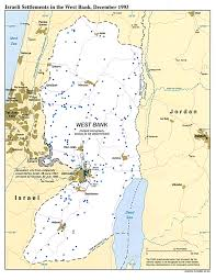 Blank Map Of Israel by