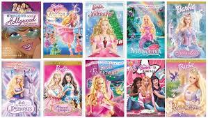 barbie 10 movies drizellafantasy
