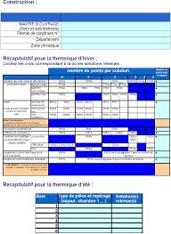 bureau d ude thermique annexe ir synthèse d étude thermique en application de la