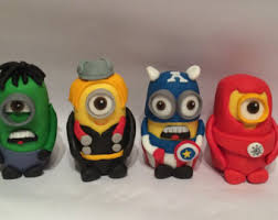 mister a gift set of 6 super hero cake toppers cupcake toppers