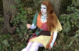 costume tutorial sally from nightmare before mad like
