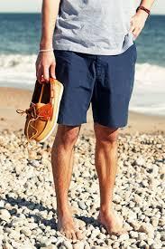 mens light blue shorts men s light blue horizontal striped v neck t shirt navy shorts