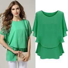 elastic waist blouse stylish casual fashion sleeve o neck elastic