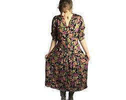 90s dress 90s summer dress etsy