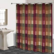 Burgandy Shower Curtain United Curtain Company